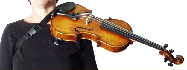 Fiddle Ezy support strap is excellent 