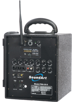 Soundart PWA40 Portable PA on a budget