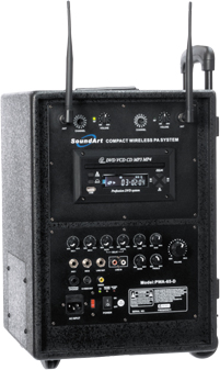 Soundart PWA65 - DUAL UHF wireless system