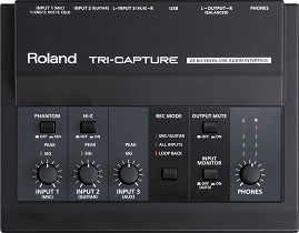 Roland Tri-Capture Audio Interface